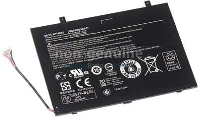 8550mAh Acer Aspire SWITCH 11 SW5-111-102R accu vervangen